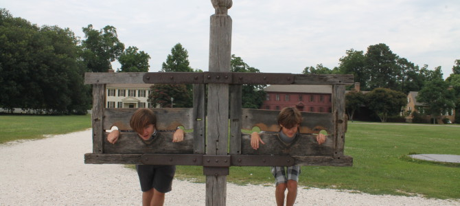 9 July 2014 : Colonial Williamsburg, Virginia